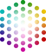 VisionColor Hollywood Logo